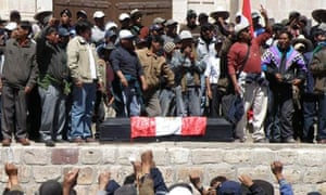 Protests In Southern Peru Left One Dead And 28 Wounded, Espinar Peru