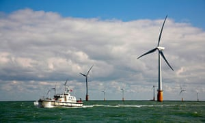 The Vattenfall operated Thanet Offshore Wind Farm, situated off the south east coast of England