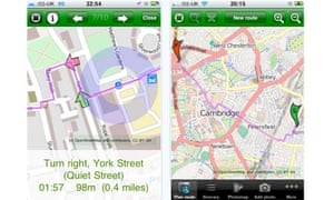 Apps for Cyclestreets journey planner and photomap