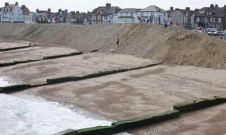 Damian blog : Felixstowe sea defences and coastal erosion