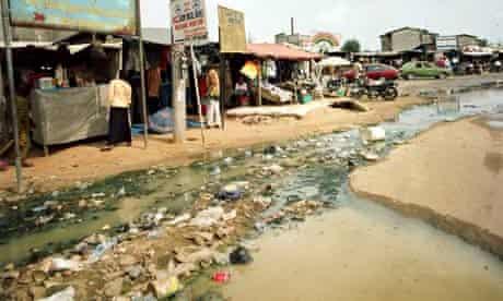 MDG : inadequate sanitation in Nigeria
