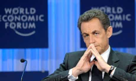 MDG: Nicolas Sarkozy at the World Economic Forum in Davos