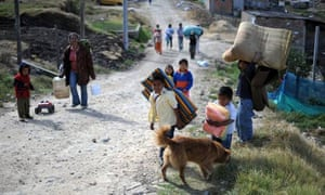 MDG : Colombia displaced people
