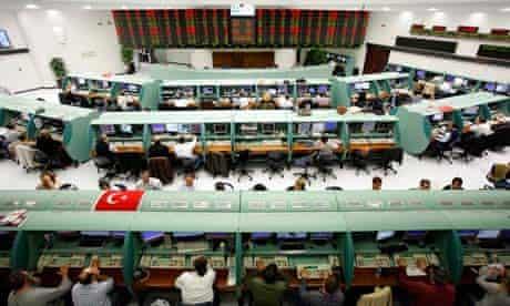 MDG : Economy Istanbul, Turkey : The Renovated Turkish Stock Exchange