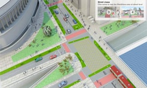 Bike blog : London Cycling Campaign's new design for the controversial Blackfriars junction