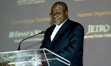 MDG : Corruption in Uganda : Vice President of Gilbert Bukenia