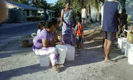 MDG : Water shortage in Tuvalu