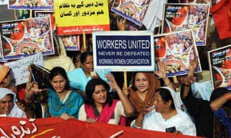 MDG : Feminism and development : Activists from Pakistani working women organisations