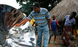 MDG : Energy : Solar Cookers in Zambia