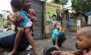 MDG : Children nutrition in Brazil : Favelas of Rio de Janeiro