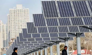 solar power panels installed for public electricity supply in Shenyang
