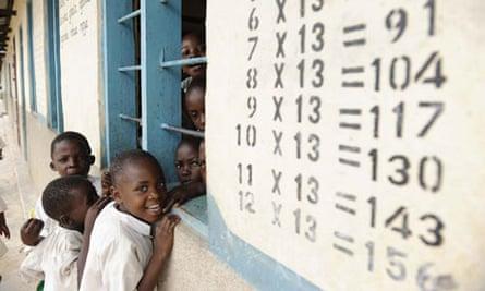 MDG : Millenium villages Project : School at Mbola, Tanzania