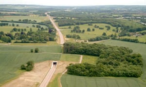 Leo blog : a green tunnel for the planned High Speed 2 rail line hs2