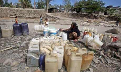 MDG : A drought affected river at Liquica Districkt in East Timor