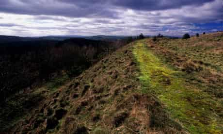 Country Diary : Bury Ditches hill fort  in Shropshire