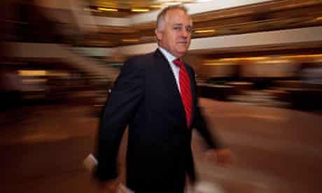 Australia Liberal Party leader : Malcolm Turnbull