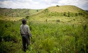 MDG : Land grab in Uganda : evicted people in Mubende District