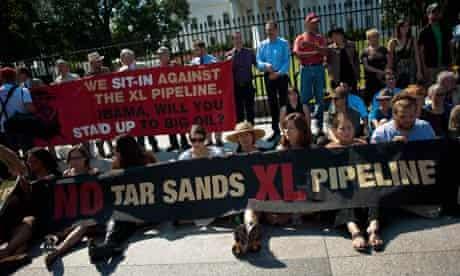 Keystone XL Pipeline Protests