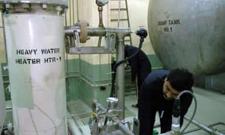 Thorium nuclear power plant in India : Engineers at Bhabha Atomic Research Centre (BARC) in Mumbai