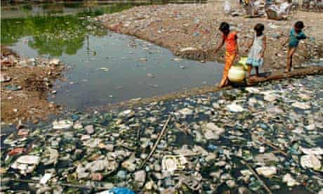 2011 Human Development Report from UNDP : pollution in India