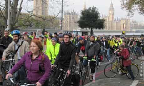 Bike blog : Tour du Danger bike ride visits ten most dangerous intersections for cyclists in London