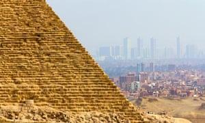 Pollution over Cairo, Egypt