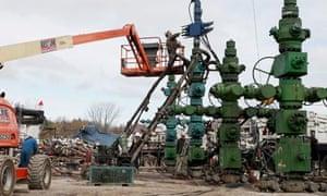 Southwestern Energy Fracking Stimulation to extract shale gas