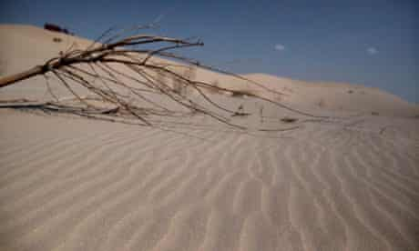 Hacked climate emails : Desertification in China