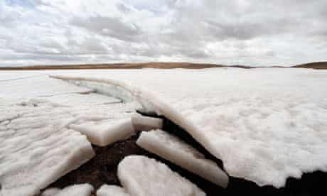 Hacked Climate emails : melting glaciers and permafrost due to global warming, Qinghai-Tibet plateau