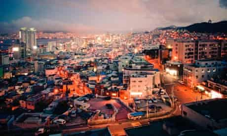 MDG : City view of Busan, South Korea