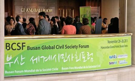 Busan Global Civil Society Forum