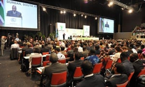 COP17 in Durban : South Africa COP 17 United Nations Climate change convention