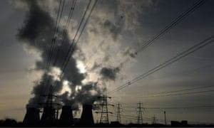 Damian blog : Ferrybridge power station, West Yorkshire