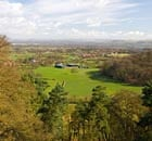 Country Diary : View over Northeast Cheshire from Stormy Point at Alderley Edge in Cheshire