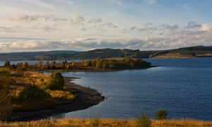 Kielder reservoir, North Tyne Valley, Northumberland