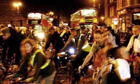 Bike blog : Local cyclists on Critical mass ride in London