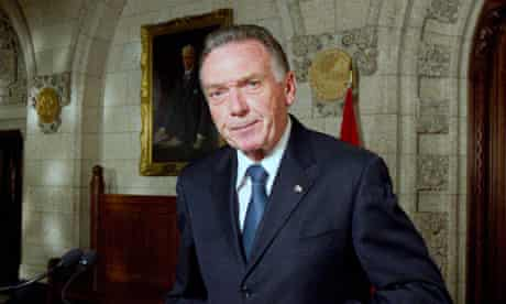 Canada Environment Minister Peter Kent