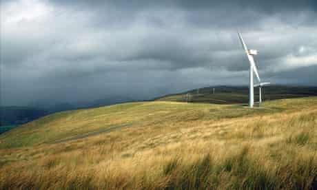 Leo Blog : Wind turbines In Llandinam, Wales