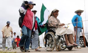 MDG : Disabled people : demanding rights and privileges in Bolivia