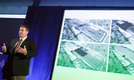 Facebook Tom Furlong, presents  new server farm on the edge of the Arctic Circle