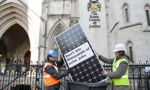 High Court solar energy challenge