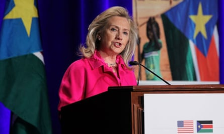 MDG : Hillary Clinton Speaks At South Sudan International Engagement Conference