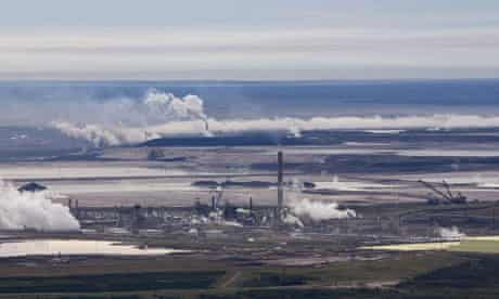 Damian blog : Tar sands in Alberta, Canada, Syncrude oil sands extraction facility