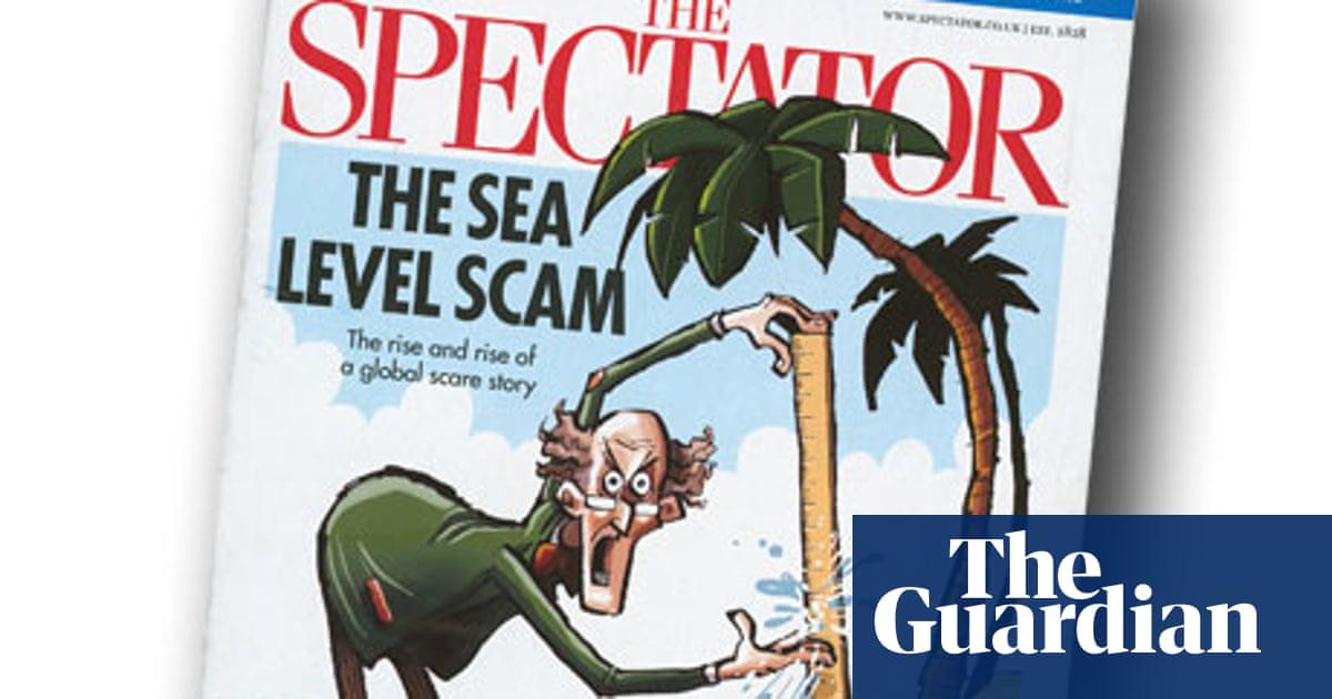 The Spectator runs false sea-level claims on its cover