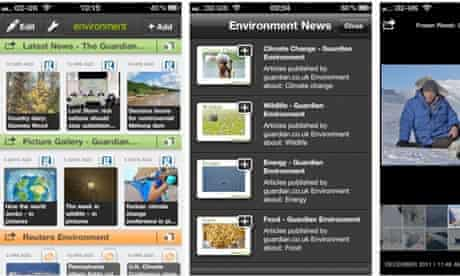 Taptu Guardian Environment apps for Iphone and Ipad