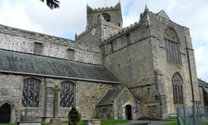 Country Diary : Cartmel Priory is the parish church of Cartmel village, Cumbria, Grange over Sands