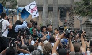 COP17 in Durban :  Maite Nkoana-Mashabane and  Christiana Figueres