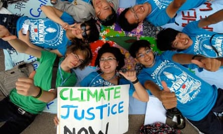 COP17 in Durban : Environmental activists demonstrate at United Nations Climate Change conference
