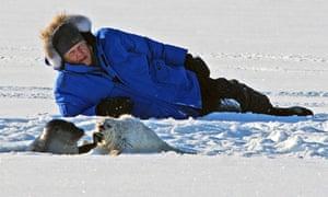 Frozen Planet 7 On Thin Ice : Sir David Attenborough