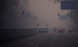 Jon Watts blog : Heavy haze hangs in the air in central Beijing